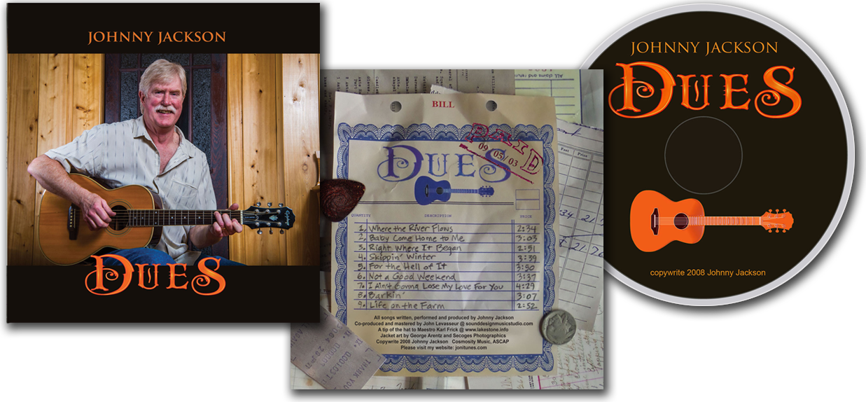 John C. Jackson's latest CD: Dues
